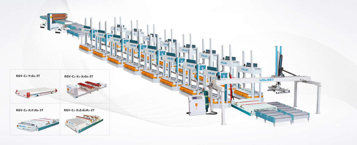 RGV(AGV)智能搬运生产线解决方案