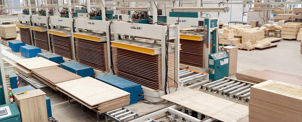 门板自动压机生产线解决方案